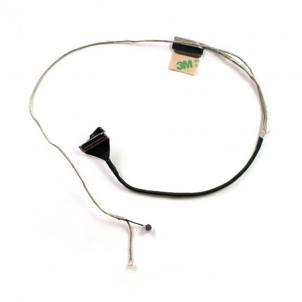 Шлейф матрицы 40 pin для ноутбука Asus A56, K56, S56 Series. С микрофоном