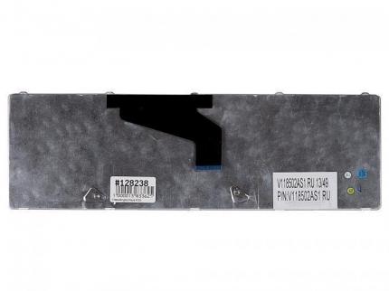 Клавиатура для ноутбука Asus K53Br, K53By, K53Ta, K53Tk, K53U, K53Z, K73Br, K73By, K73Ta, K73Tk, X53U, черная, высокие кнопки со скосом, гор. Enter