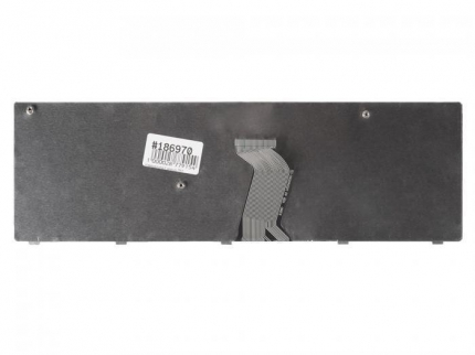 Клавиатура для ноутбука Lenovo Z570, B570, B590, V570, V580, V580c, Z575, черная с рамкой, гор. Enter