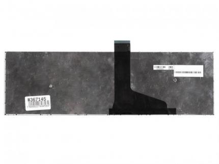 Клавиатура для ноутбука Toshiba Satellite C55-A, черная с рамкой, верт. Enter