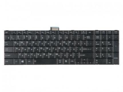 Клавиатура для ноутбука Toshiba Satellite C50, C50D, C55, C55D, гор. Enter