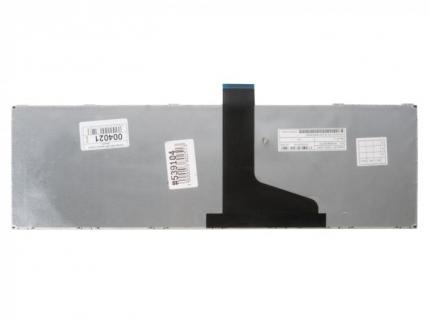 Клавиатура для ноутбука Toshiba Satellite P850, P855, p870, p870d, p875, p875d, черная с глянцевой рамкой, гор. Enter