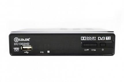 Цифровая приставка DVB-T2 D-COLOR DC1302HD N