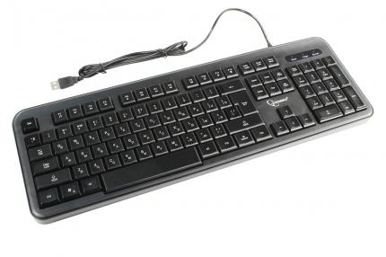 Клавиатура с подстветкой Gembird KB-200L, USB