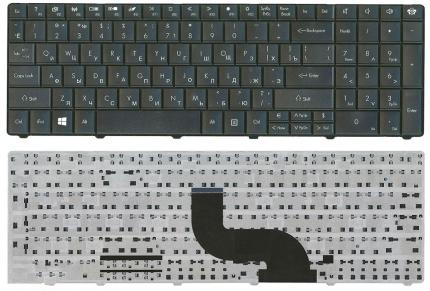 Клавиатура для Acer для Aspire E1, E1-521, E1-531, E1-531G, E1-571G для TravelMate P453-M, P453-MG, v5wc1, P253, p453, p253-e, p253-m, p253-mg, p453-m, p453-mg, [NK.I1713.02C] [NK.I1717.00M] [NK.I1717.049] ] Black