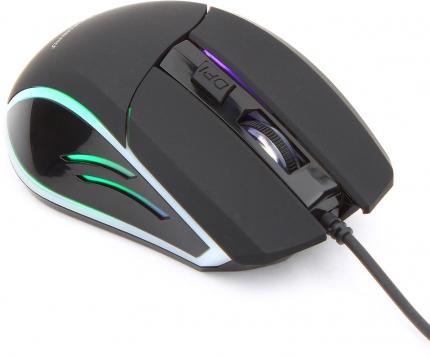 Игровая мышь Gembird MG-500 USB, 1600DPI, подсветка