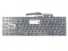Клавиатура для ноутбука Samsung NP270E5E, NP300E5V, NP350V5C, NP355V5C, NP355V5X, NP550P5C, черная без рамки, гор. Enter