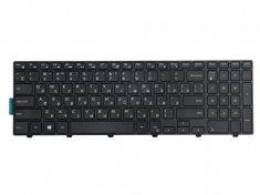 Клавиатура для ноутбука Dell для Inspiron 15-3000, 15-5000, 17-5000, Inspiron 3541, 3542, 3543, 3551, 3558, 5542, 5545, 5547, 5758, 5748, Vostro 3546, черная с рамкой, гор. Enter