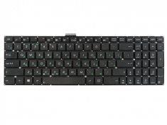 Клавиатура для ноутбука Asus A551CA, A553MA, A555L, F550V, F551CA, F551MA, F553MA, F555L, K553MA, K555, S500, S550, X502, X502C. X502CA, X502U, X503MA, X503SA, X552C, X552EA, X552VL, X553MA, X554L, X555L, X750L, X553SA, черная без рамки, гор. Enter