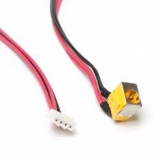 Разъем питания PJ012 для ноутбука Acer Aspire 6920, 6920G, 6935, 6935G Series. 5.5x1.7 mm. С кабелем 35 см