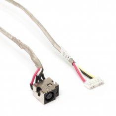 Разъем питания PJ106 для ноутбука HP Pavilion DV7-1000, DV7T-1000 Series. 7.4x5.0 mm с иглой. С кабелем 24 см