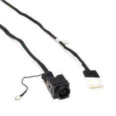 Разъем питания PJ416 для ноутбука Sony Vaio VPC-EL, SVE151 Series. 6.5x4.4 mm с иглой. C кабелем 17 см