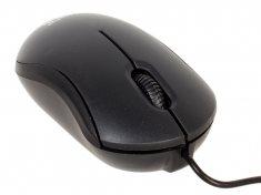 Мышь CBR CM 112 Black, оптика, 1200dpi, провод 1.3 м, USB