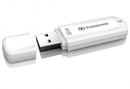 USB-флешка Transcend 32Gb Jetflash 730 TS32GJF730, USB3.0, белый